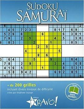 Paperback Sudoku Samuraï [French] Book