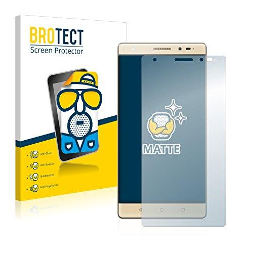 BROTECT 2X Entspiegelungs-Schutzfolie kompatibel mit Lenovo Phab 2 Plus Bildschirmschutz-Folie Matt, Anti-Reflex, Anti-Fingerprint