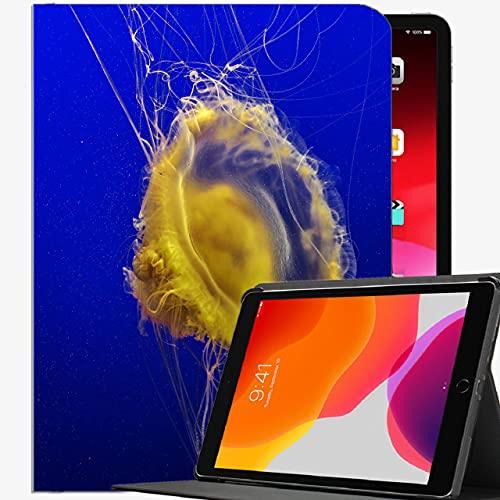 Caso en Forma de Nuevo iPad 8th Generation 10.2 '2020 / iPad 7th Gen 2019, tentáculos de Medusas Cubierta Delgada de la Caja del Mundo subacuática para iPad iPad 10.2 Pulgadas