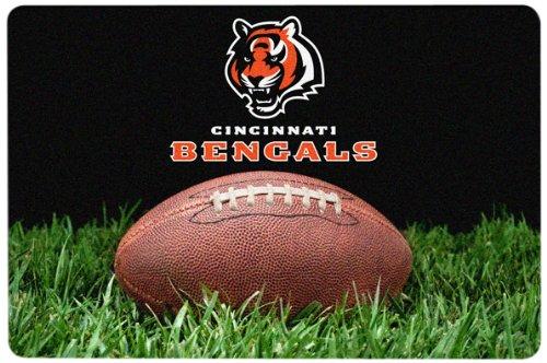 GameWear NFL Cincinnati Bengals Classic Football Futternapf-Matte, groß