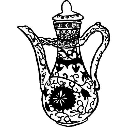 Azeeda A7 'Kaffeetasse' Stempel (Unmontiert) (RS00001759)