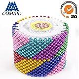 Stecknadeln mit runden Perlen Gerade Positionierung Nadeln mit farbigen Perlen, 480Stück