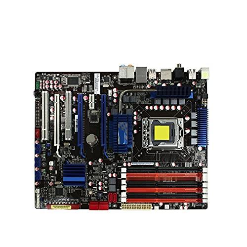 BEROVE Placa Base Fit for ASUS P6T SE, Placa Base LGA 1366 DDR3 X58, Placa Base de Escritorio para PC para Juegos