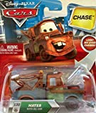 Disney / Pixar CARS TOON 155 Die Cast Car Mater with Oil Can Chase Piece!