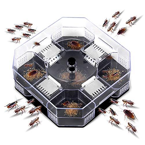 Wopohy Trampa para cucarachas, Control de cucarachas Reutilizable útil para cucarachas para cocinas restaurantes