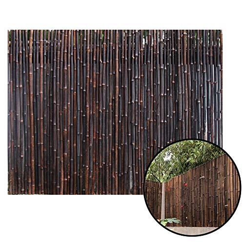 GDMING Garten Sichtschutzmatte Zaun Rollen Draussen Japanischer Stil Sonnenschirm Dekoration Windschutzscheibe Zum Wandtrennwand Terrasse Balkongeländer Bambus, 2 Farben, 12 Größen