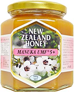 ハニーマザー マヌカハニー UMF5+ 500g 非加熱 100%純粋 ニュージーランド産 マヌカ蜂蜜