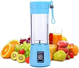 Personal USB electric Juicer Cup ,Portable Juicer Blender ,Household Fruit Mixer - Six Blades in 3D,Rechargeable Fruit Mix...