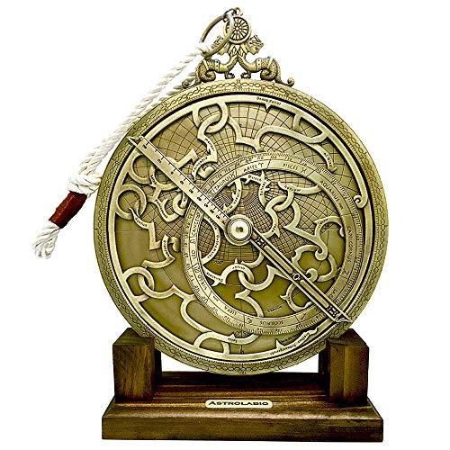 Astrolabio antiguo funcional (Grande)