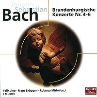 Brandenburgische Konzerte 4-6 by I Musici (2008-01-01)