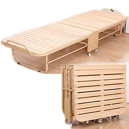 TWW Folding Bed Sheet, Home Office, Lunch Break, Nap Artifact, Portable Simple Bed, Folding Invisible Bed, Folding Single Bed