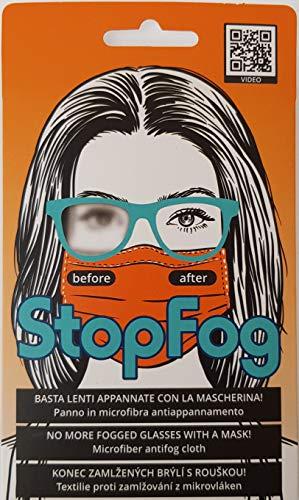 StopFog – Panno Anti-Appannamento per Occhiali