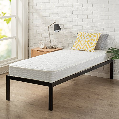 Zinus 6 Inch Foam and Spring Mattress / CertiPUR-US Certified Foams / Mattress-in-a-Box, Narrow Twin