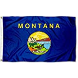 Sports Flags Pennants Company State of Montana Flag 3x5 Foot Banner