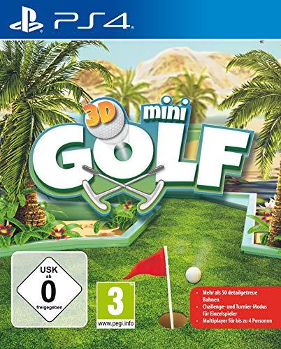 3D Mini Golf Spiel für PS4 [PlayStation 4]