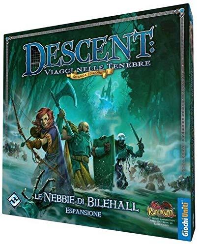 Giochi Uniti Descent Seconda Edizione: Le Nebbie di Bilehall, Multicolore, 1