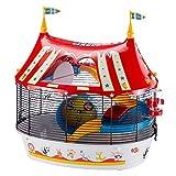Ferplast Jaula de Tres Pisos para hámsteres Circus Fun, Ratones y...