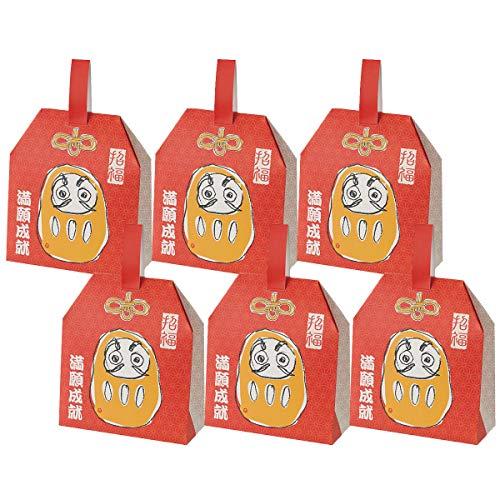 小宮せんべい本舗 草加せんべい 縁起物BOX お守り 6個セット 5種計5枚×6箱 せんべい 埼玉