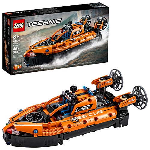 LEGO Technic Rescue Hovercraft 42120 Model Building Kit;...