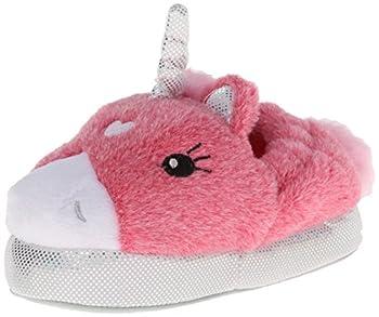 Stride Rite Girl s Light-Up Unicorn Slipper Pink/Multi 7/8