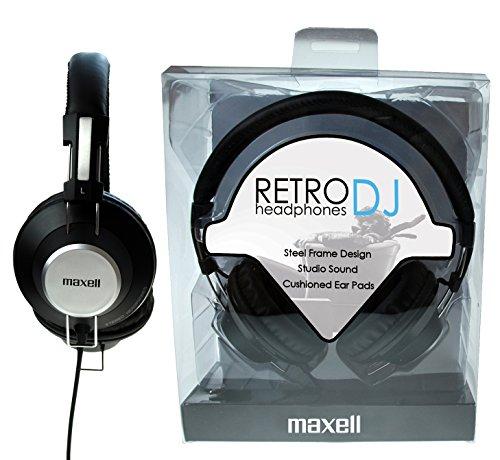 Preisvergleich Produktbild Maxell 303516 Retro DJ Headphones inkl. 3, 5mm auf 6, 2mm Adapter