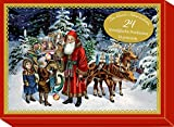 Schmuckschachtel - Der kleine Adventsschatz: 24 nostalgische Postkarten - Barbara Behr