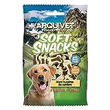 ARQUIVET Soft Snacks para Perro Maxi Huesitos de Cordero Pack 14 x 100 g - Snacks Naturales para Perros de Todas Las Razas - Premios, recompensas, chuches para Perros