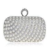 Damen Handtasche damentaschen Schultertasche Messenger-Bags Perlenbeutel Handtaschen Clutch -