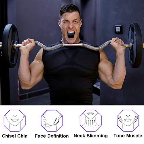 Jaw Exerciser, Neck Toning Exerciser Doppelkinn-Trainingsgerät Fitness Ball Neck Exerciser Jaw Lift Fitness für das Gesicht Definieren Sie Ihre Jawline, schlank und straffen Sie Ihr Gesicht