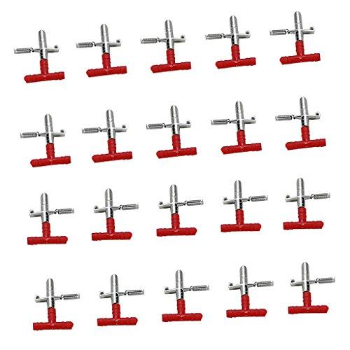 Sharplace 20pcs Mamelon Abreuvoir Automatique Distributeurs de Nourriture