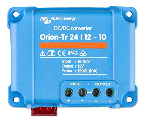 Victron Energy ORI241210200R Orion-TR 24/12-10 120 W DC Convertidor, De 24 a 12 V-10A