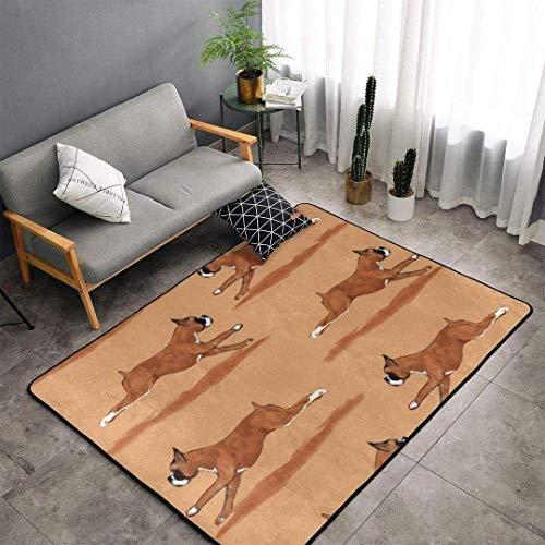 Alfombra lavable para perro, decoración de nuevas habitaciones, antideslizante, para cocina, pasillo, dormitorio, 183 x 122 cm