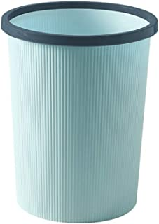C-J-Xin Waterproof Trash Can, with Pressure Ring PP Trash Can Hotel Room Bedroom Balcony Without Cover Trash Can Trash & R...