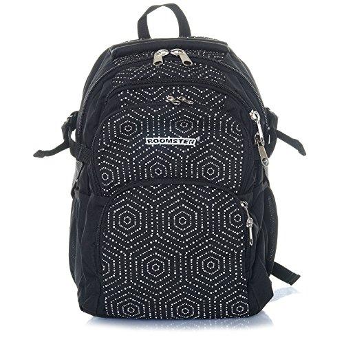Schul Rucksack Mädchen Junge Ranzen Tasche Backpack Sport Freizeitrucksack 21593 Weiß