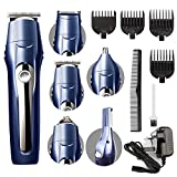 Hair Clippers for Men, <span class='highlight'><span class='highlight'>EOSVAP</span></span> 10-in-1 All-in-one Trimmer, Cordless Beard Trimmer Men Grooming Kit Body Groomers Facial Nose Ear Trimmers, Hair Cutting Kit Suitable for Family and Barber Shop