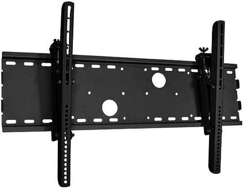 Monoprice Titan Series Tilt TV Wall Mount Bracket - Black | No Logo, TVs 37 Inch to 70in, Max Weight 165lbs, VESA Pat...