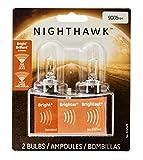 GE Lighting 9005NH/BP2 Nighthawk Halogen High-Beam Headlight Bulbs, 2-Pack
