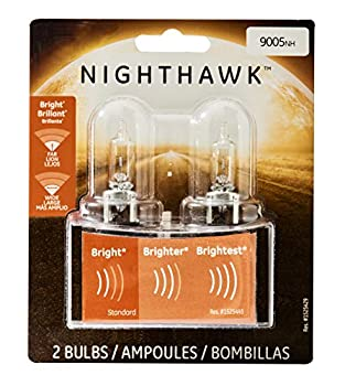 GE Lighting 9005NH/BP2 Nighthawk Halogen High-Beam Headlight Bulbs 2-Pack