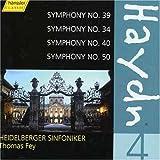 Symphonies 39 34 40 & 50 4