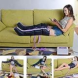 LJYY Masajeador de compresión de Aire para piernas, Brazo, Cintura, presoterapia portátil, masajeador para el Cuidado de la Salud, máquina de Drenaje linfático para aliviar la Fatiga, Mejorar la