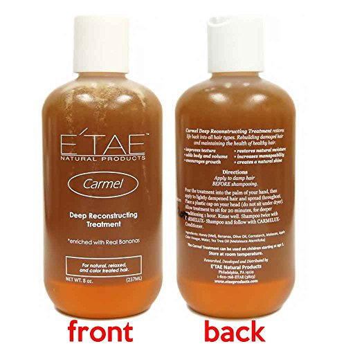 Etae Carmel Deep Reconstructing Hair Treatment 8oz