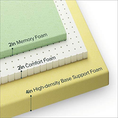 Zinus Ultima Comfort Memory Foam 8 Inch Mattress,Twin