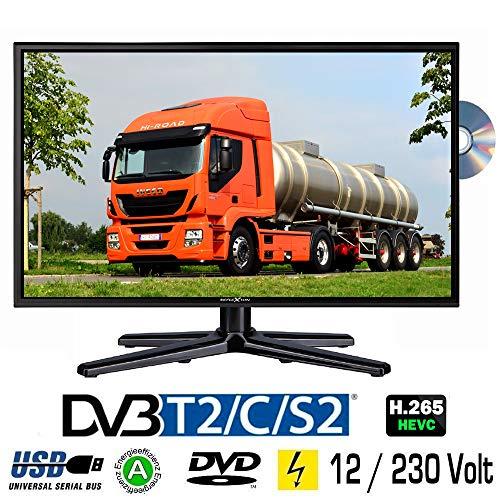 LED 23.6 Zoll TV Reflexion LDDW-24 DVB-S2 / C / T2 DVD, 24 Volt 12 Volt 230 Volt