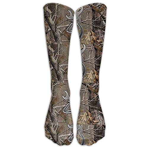 Camouflage Realtree Knee High Graduated Compression Socks For Women And Men Travel & Flight Socks - Running & Fitness