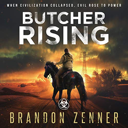 Butcher Rising audiobook cover art