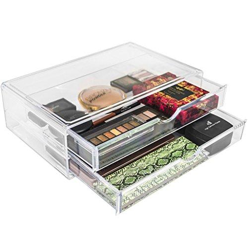 Sorbus Interchangeable Acrylic Makeup Organizer