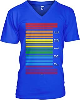 Gay Pride Barcode - LGBTQ Support Parade Unisex V-Neck T-Shirt