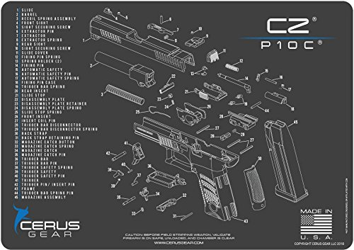 Cerus Gear CZ P10C Schematic Promat Grey