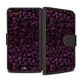 YOUNiiK Carcasa de folletos Bolsa (Negro) para el iPhone de Apple 6 / 6S - Cazadores de Sombras: Ciudad de Hueso/Salvia