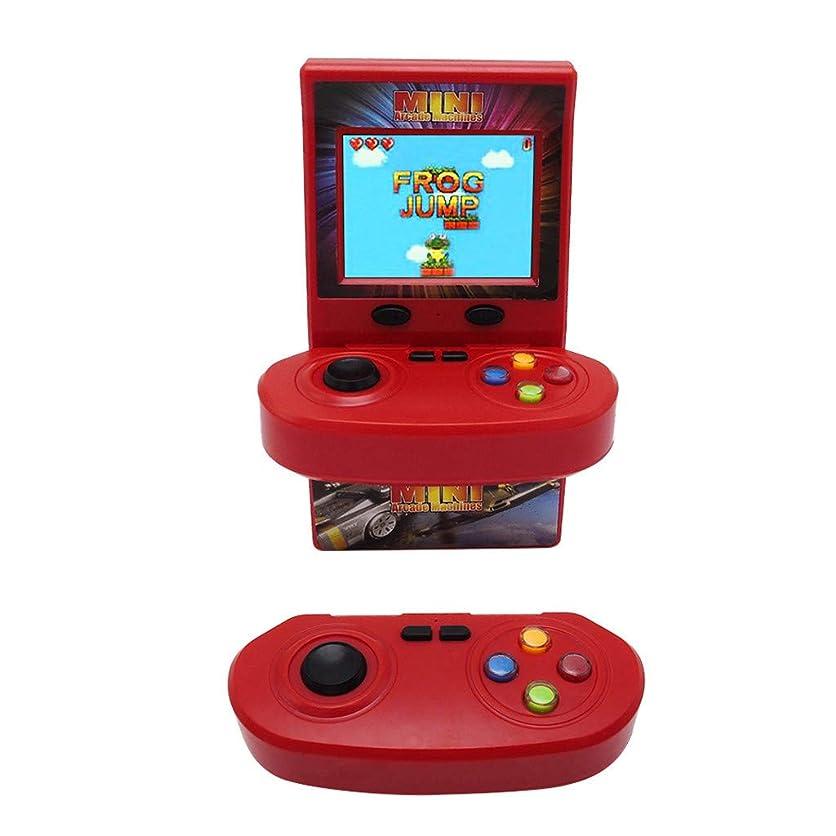 一緒ゴール一晩ゲームコンソール ダブルワイヤレスジョイスティック アーケードゲーム コンソール ノスタルジック 100ゲーム ゲームプレーヤー ダブルハンドル 携帯ゲーム機huajuan